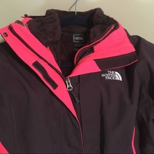 The North Face Hyvent with Zip-Out Fleece Lining